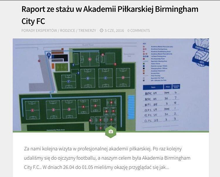 Nowy wpis na naszym blogu Raport ze stau w Akademiihellip