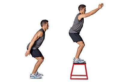 skoki na boksy - ćwiczenia w domu
