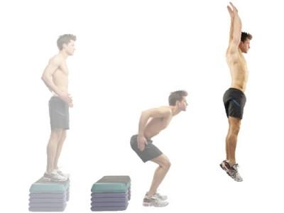 skoki głębokie - ćwiczenia na skoczność