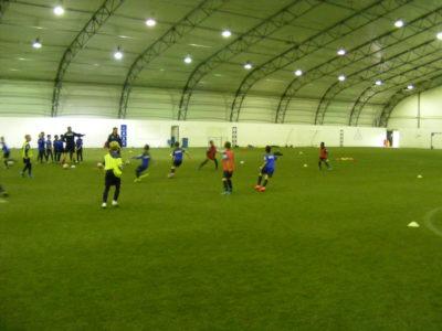 Trening młodych zawodników