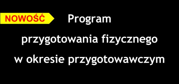 program przygotowania fizycznego