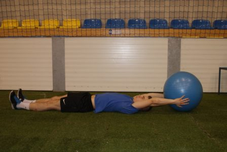 ćwiczenia z piłką fitness