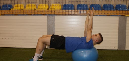 trening core stability