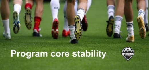 trening core stability