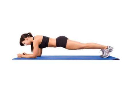trening plank deska