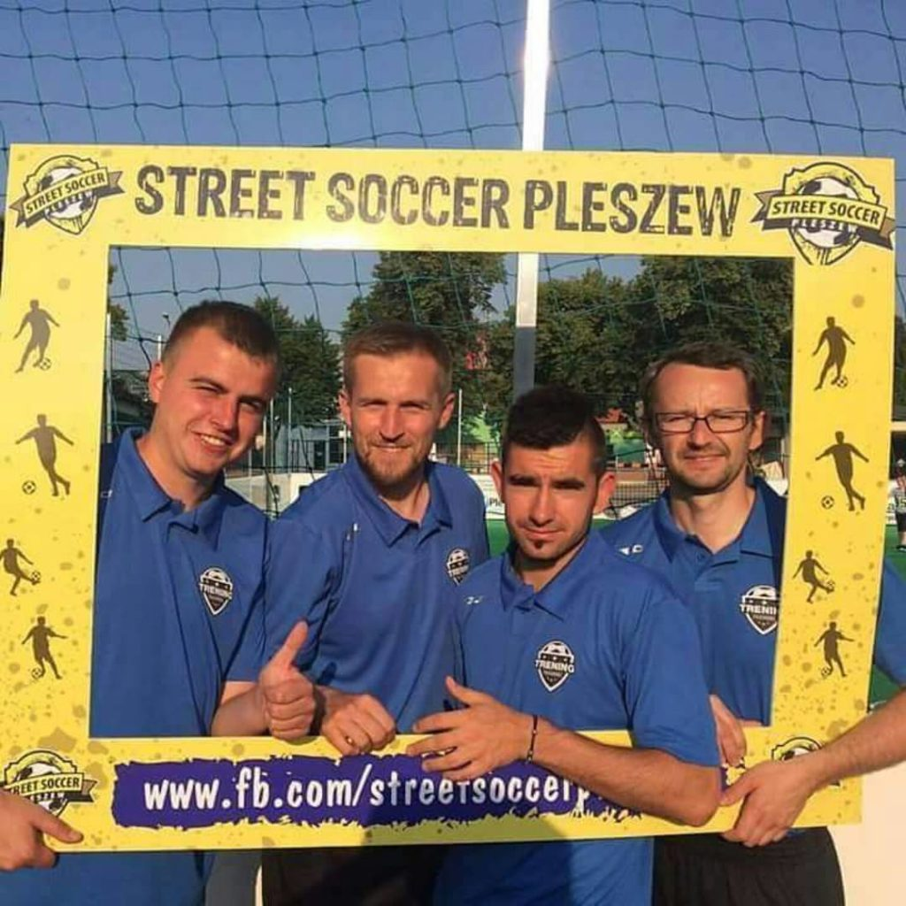 Cz ekipy naszego bloga podczas turnieju Street Soccer Pleszew! hellip