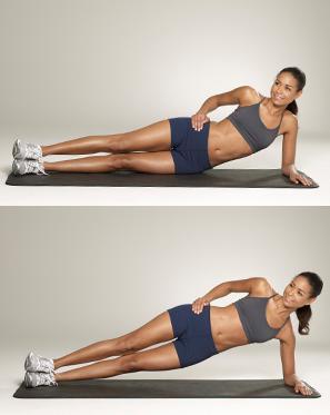 Dynamic Side Bridge – poprawa siły mięśni poprzecznych brzucha.