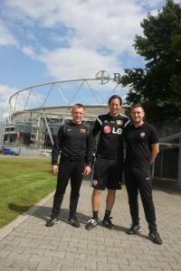 Staz z Bayer Leverkusen