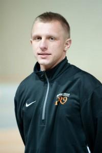 Trener Lukasz Laczny