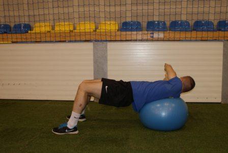 piłka fitness do treningu