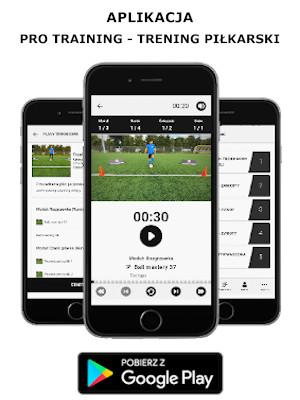 Aplikacja Pro Training - Trening Piłkarski